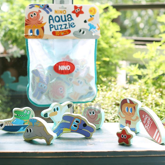 (複製)韓國NINO|立體拼圖洗澡玩具-海底世界