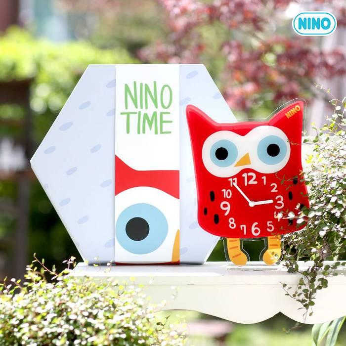 韓國NINO|HapPy TimE童趣時鐘-奇幻貓頭鷹