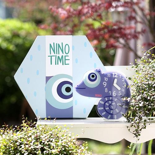 韓國NINO|HapPy TimE童趣時鐘-變色龍Pascal