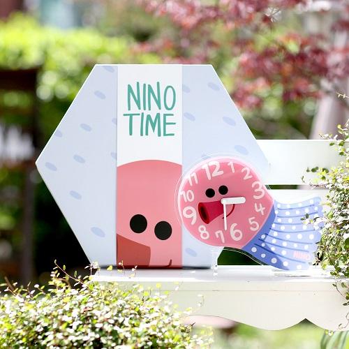 韓國NINO|HapPy TimE童趣時鐘-章魚小丸子