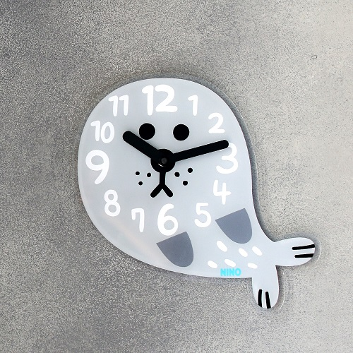 韓國NINO|HapPy TimE童趣時鐘-海豹Robby