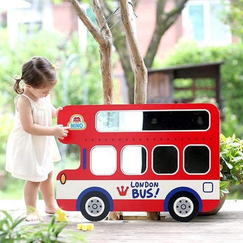 韓國NINO|兒童彩繪壁貼鏡-倫敦趴趴GO