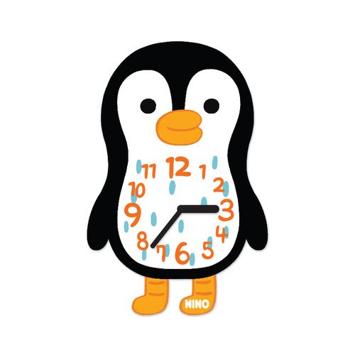 韓國NINO|HapPy TimE童趣時鐘-QQ酷企鵝