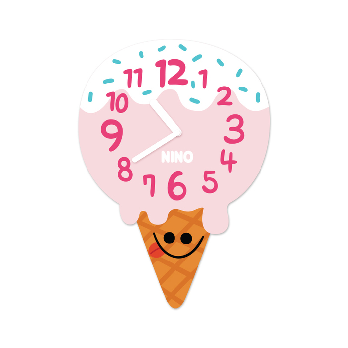 韓國NINO|HapPy TimE童趣時鐘-叭哺冰淇淋