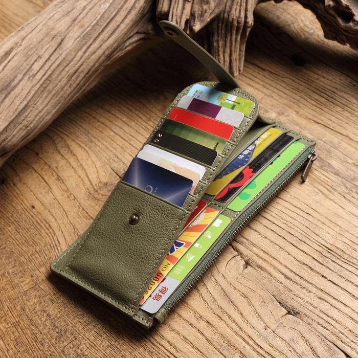 SoLoMon|真皮超強收納卡片夾 長夾 (2色可選)