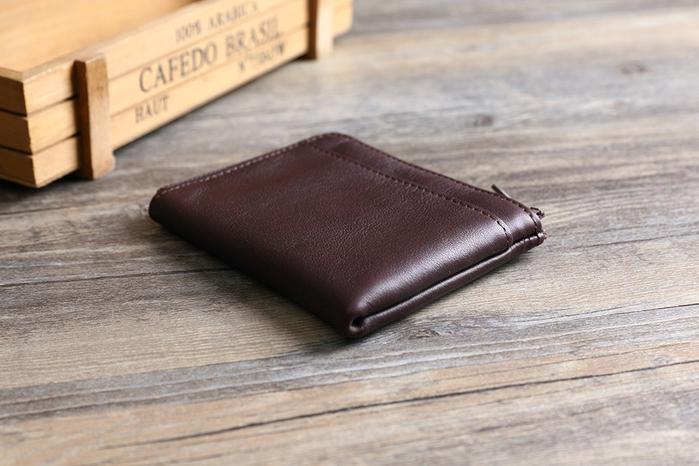 SoLoMon|黑麋鹿 簡約真皮牛革 卡片零錢包 (3色可選)