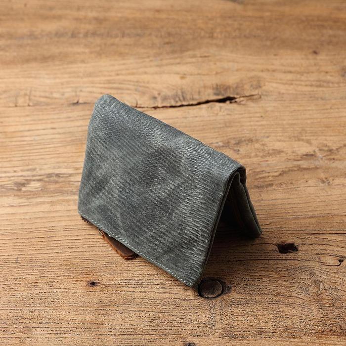 SoLoMon|經典英式復古 牛皮革+機能帆布(4色可選)