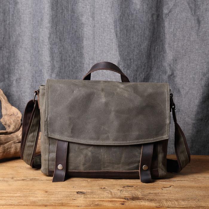 (複製)SoLoMon|牛皮革機能帆布後背包(4色可選)