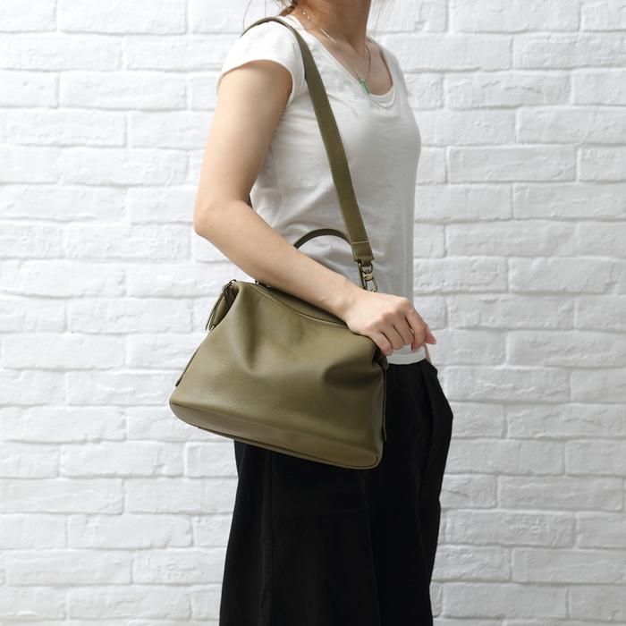 SoLoMon|真皮牛革手提側背包(2色可選)