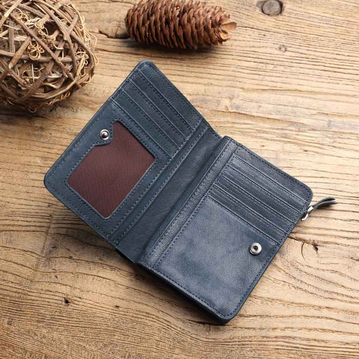 SoLoMon|水洗植鞣牛革名片夾 /卡包/卡片夾