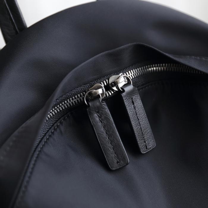SoLoMon|尋覓 簡約真皮牛革 後背包