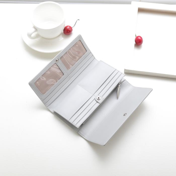 (複製)SoLoMon|手作牛皮釦式長夾