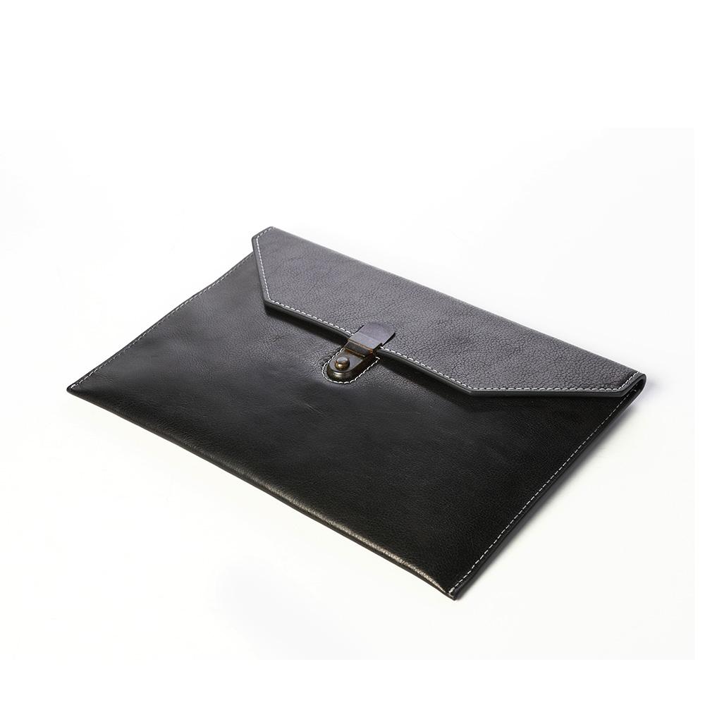 SoLoMon|真皮iPad 平板套 /收納包 /手拿包 (二色)