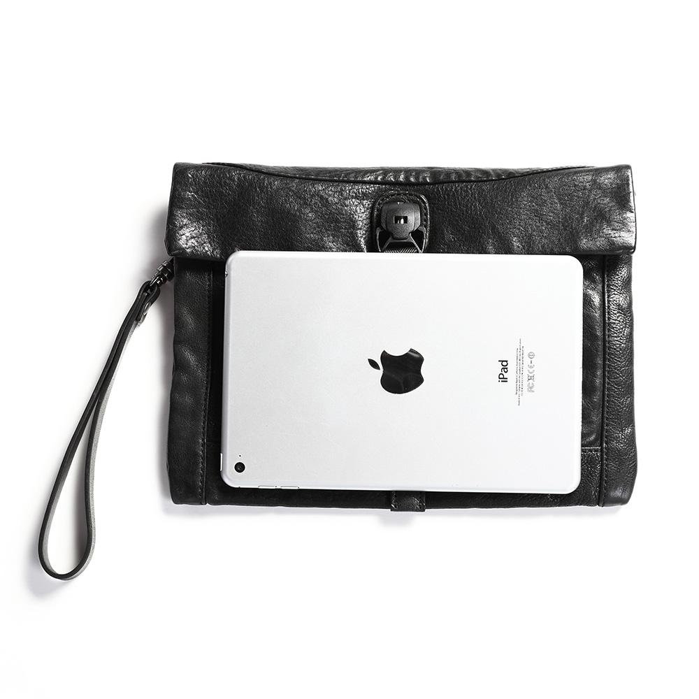 SoLoMon 真皮iPad 平板套 /收納包 /手拿包(3色可選)
