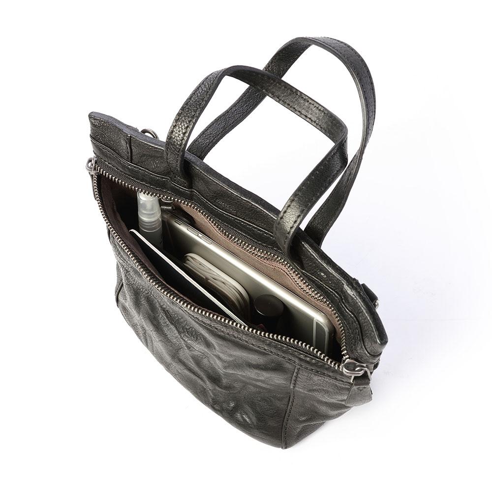 SoLoMon|復古調性水洗牛皮 斜背包