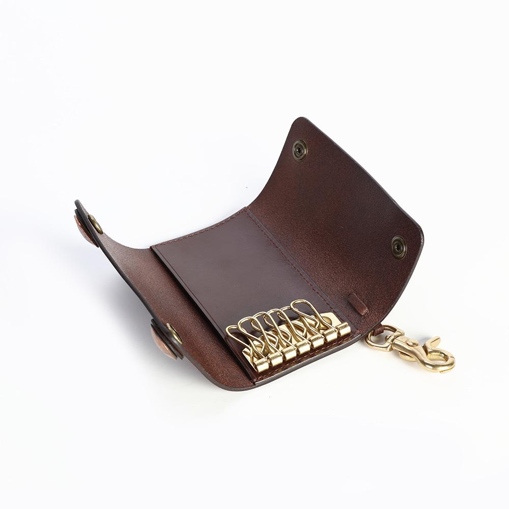 SoLoMon|真皮手作牛皮鑰匙包