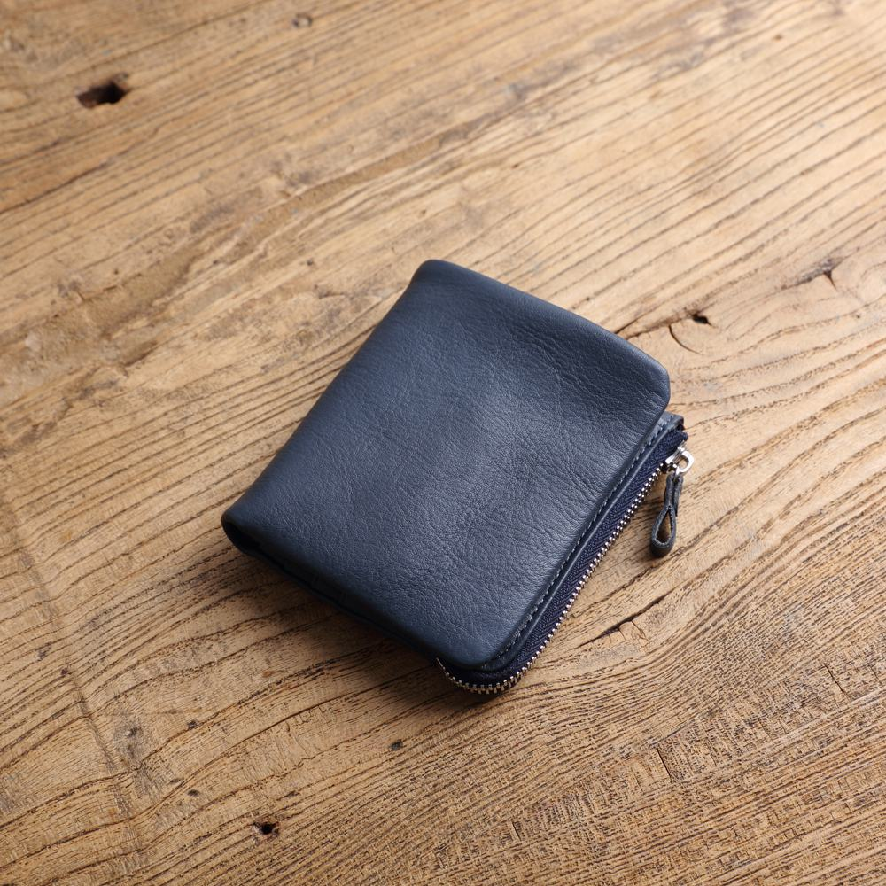 SoLoMon|簡約實用 真皮功能短夾 零錢包