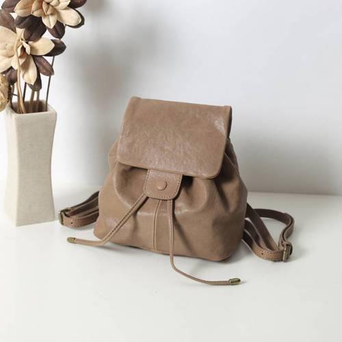 SoLoMon|BOXER系列小羊皮水桶後背包 (五色可選)