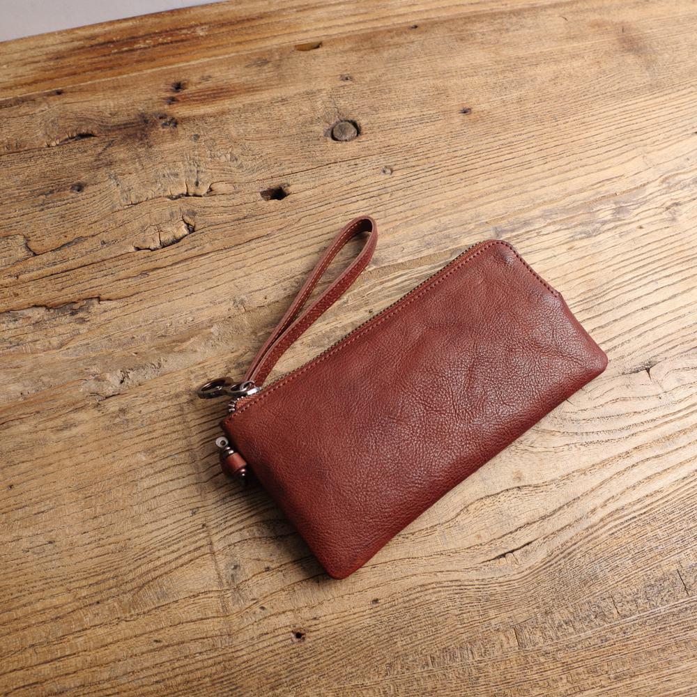 SoLoMon|簡漫 長夾附手腕帶 手提錢包 (三色可選)