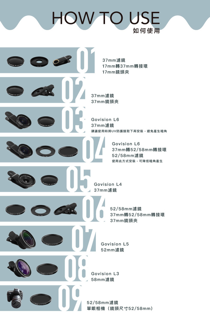 Bomgogo Govision 超薄款ND8減光鏡 37mm