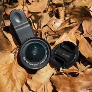 Bomgogo|Govision L6 極輕量手機廣角微距鏡頭組(黑色/含框37mm)