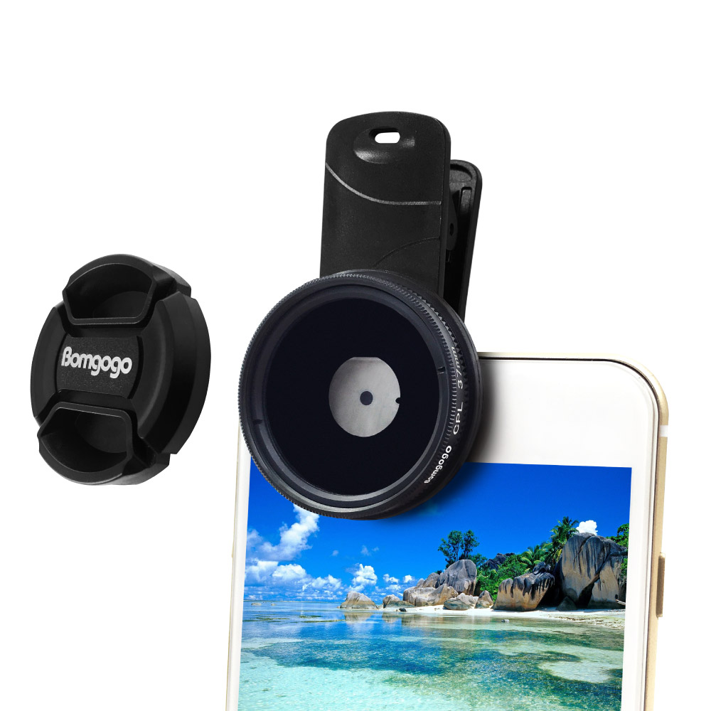 Bomgogo|Govision 超薄款CPL偏光鏡 37mm