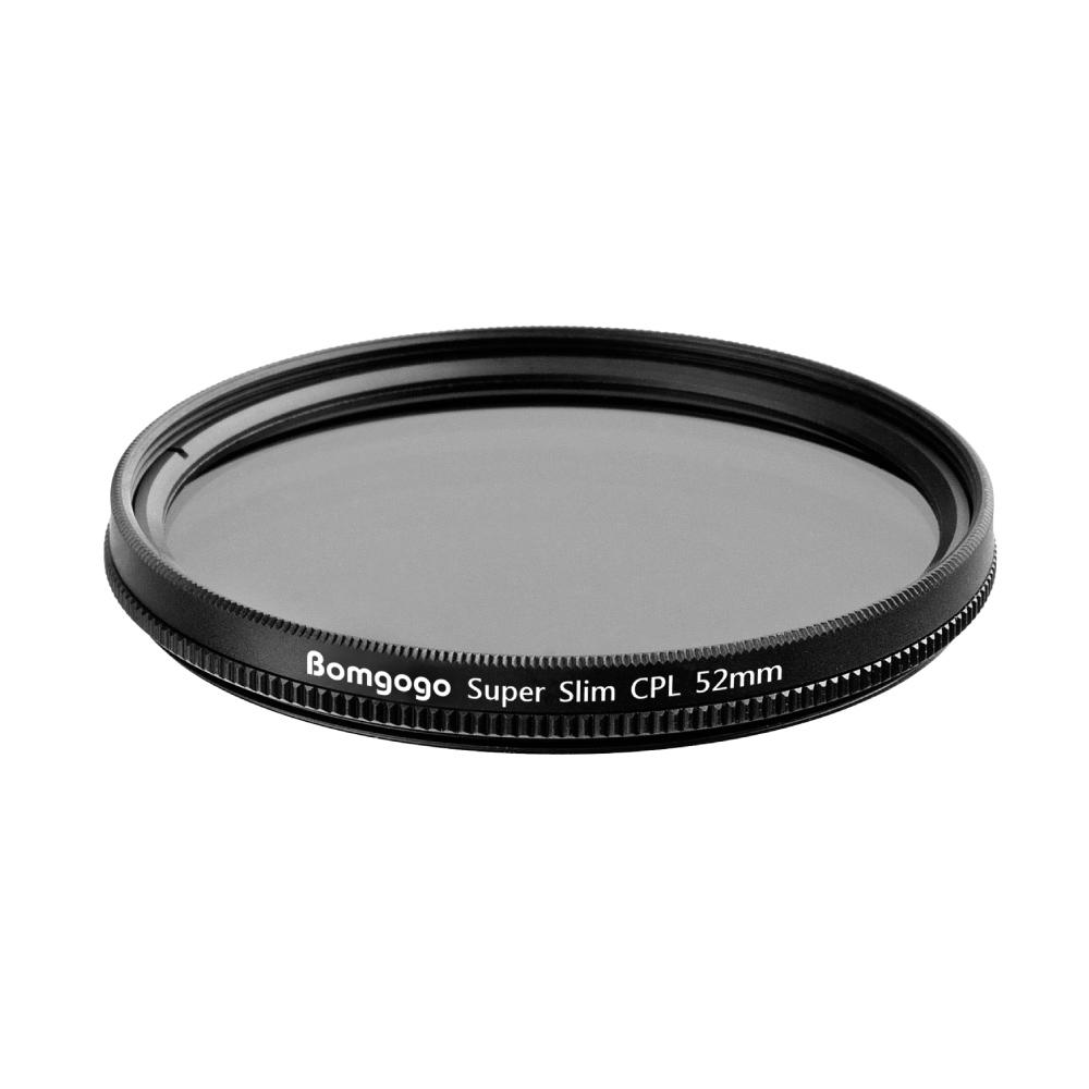 Bomgogo|Govision 超薄款CPL偏光鏡 52mm