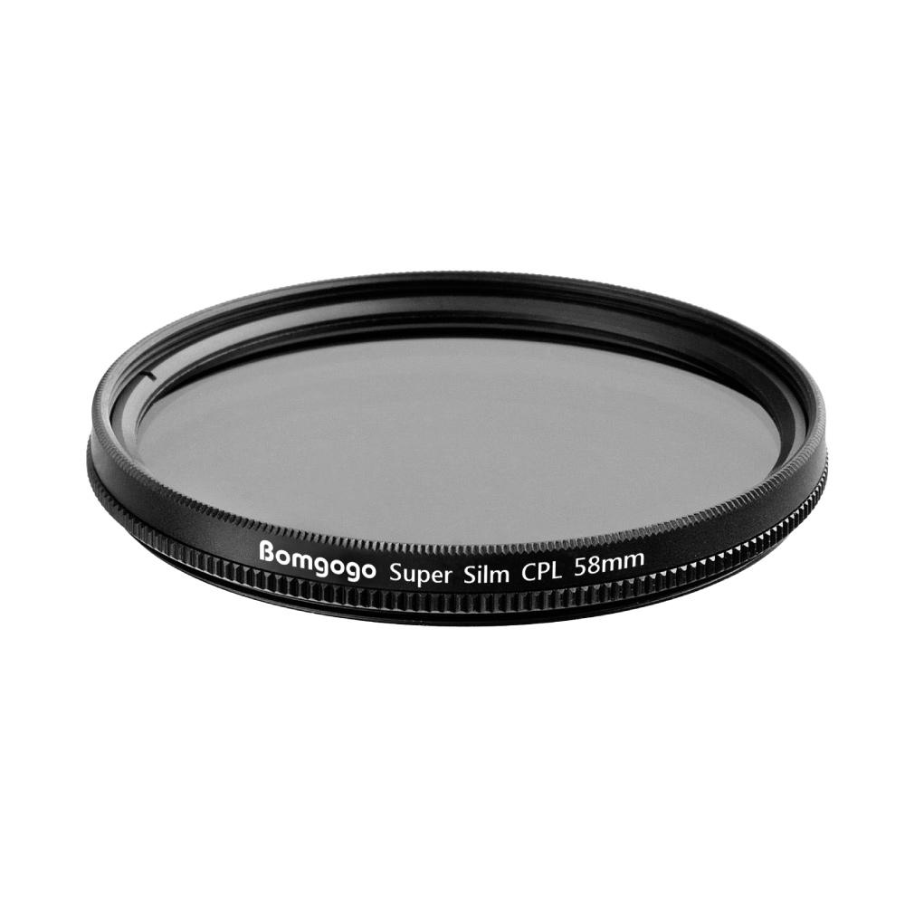 Bomgogo Govision 超薄款CPL偏光鏡 58mm