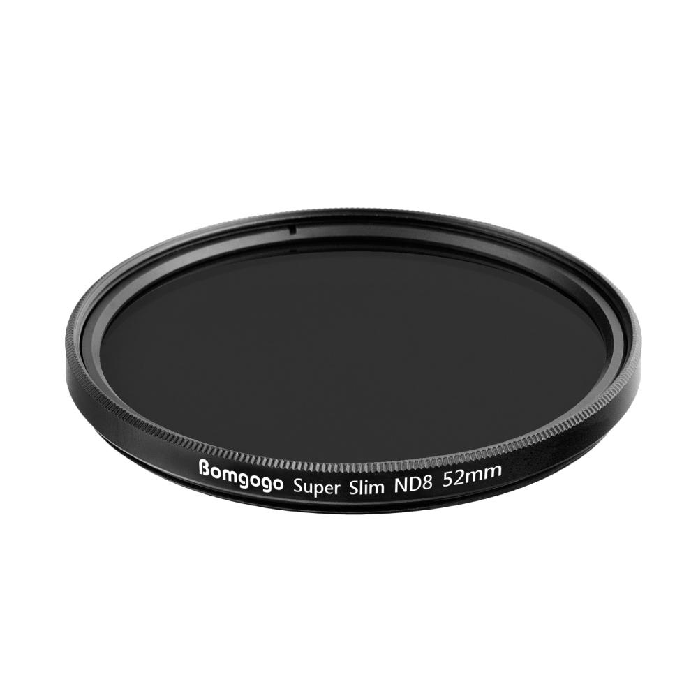 Bomgogo Govision 超薄款ND8減光鏡 52mm