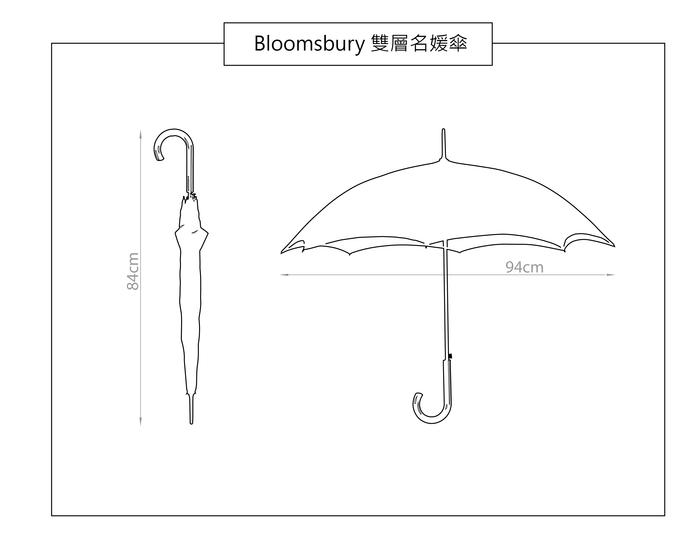 Fulton富爾頓|Bloomsbury雙層名媛傘-水玉點點