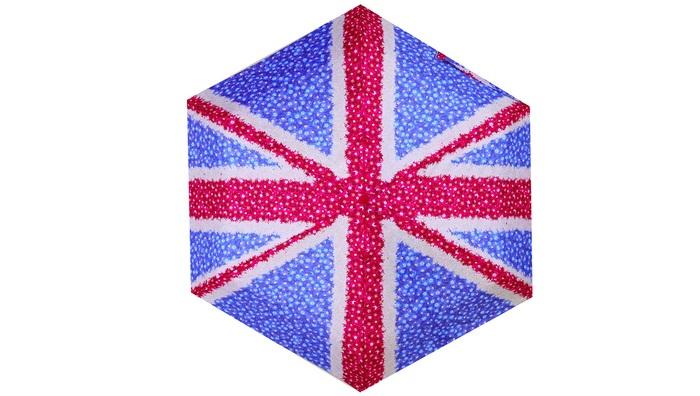 Fulton富爾頓|迷你口袋傘-英國國旗