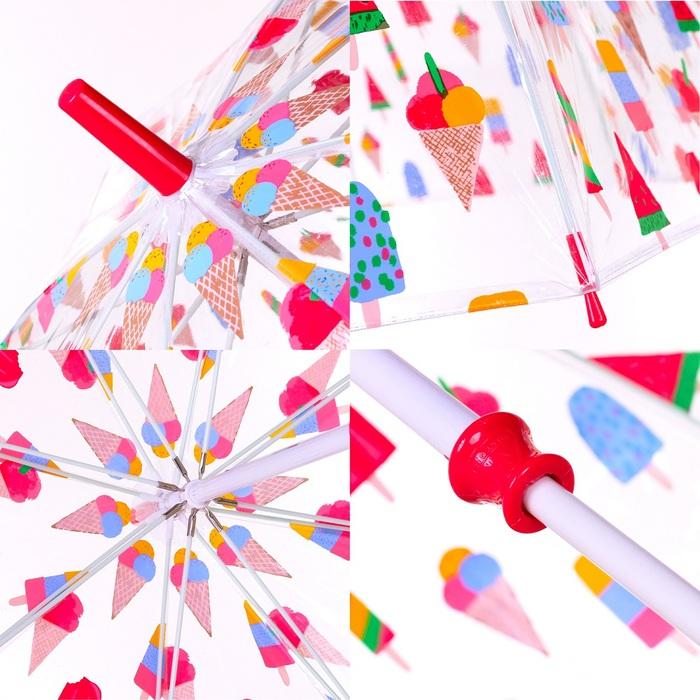 Fulton富爾頓|Cath Kidston聯名鳥籠傘-繽紛冰淇淋