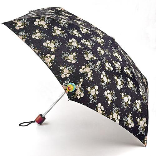 Fulton富爾頓|抗UV輕巧隨身傘-黑美人