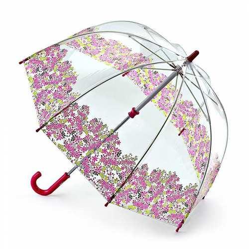 Fulton富爾頓|兒童鳥籠傘-粉紅花瓣
