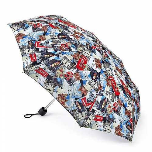 Fulton富爾頓 【2018春夏限量】輕巧隨身傘-倫敦印象