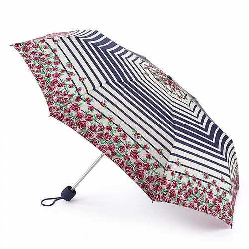 Fulton富爾頓|【2018春夏限量】輕巧隨身傘-航海玫瑰