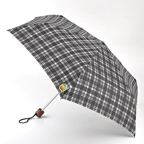 Fulton富爾頓|抗UV輕巧隨身傘-經典格紋