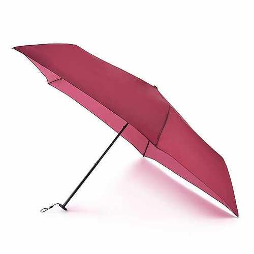 Fulton富爾頓|抗UV航空碳纖傘-酒紅