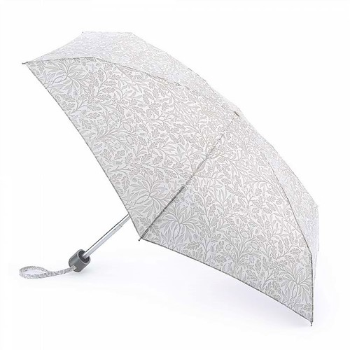 FULTON富爾頓|Morris聯名 迷你口袋傘-白金奢光