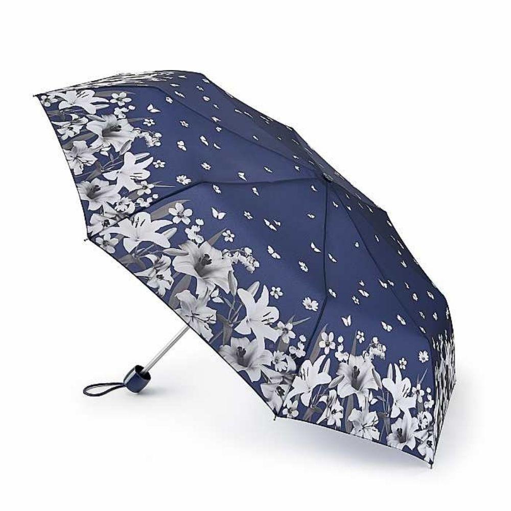 FULTON富爾頓|輕巧隨身傘 Lilies & Snowdrops