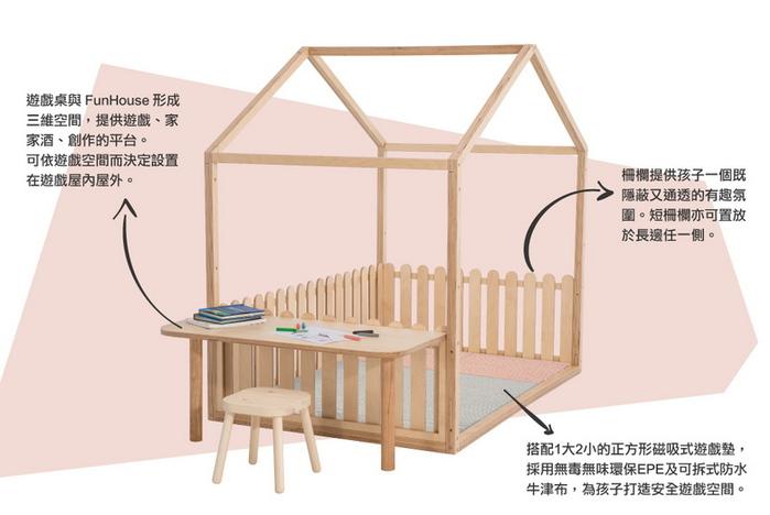 (複製)孩記得 FunHouse 遊戲木屋 - 全組