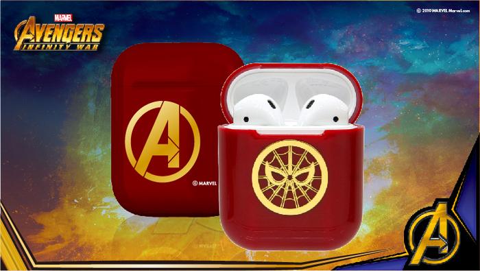 CAMINO | 復仇者聯盟AirPods硬式保護套 -  鋼鐵蜘蛛人