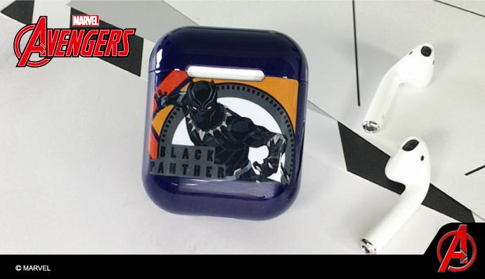 (複製)CAMINO | 復仇者聯盟 AirPods硬式保護套 鋼鐵人(反應爐)