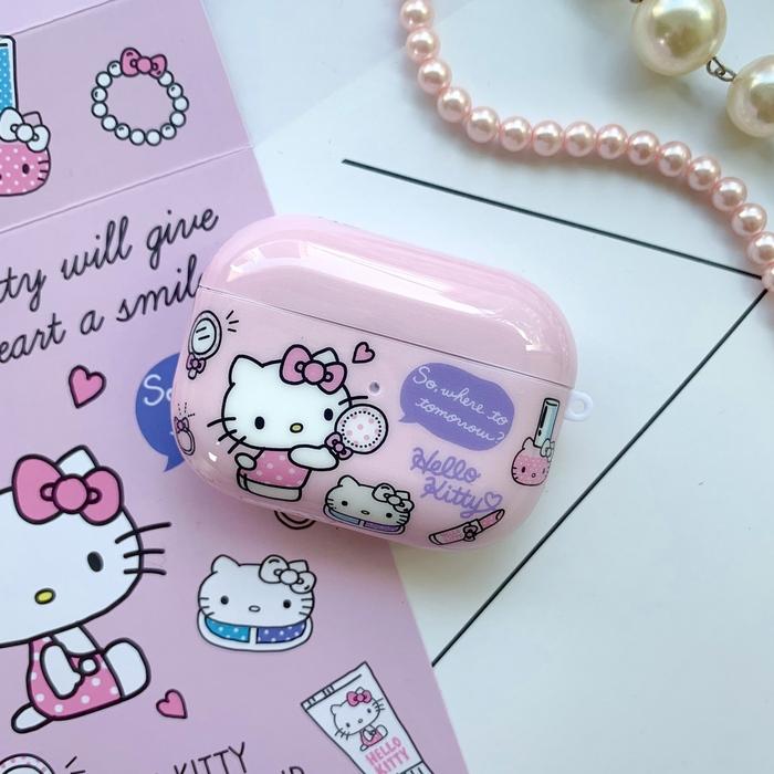 (複製)HongMan   三麗鷗系列 Airpods Pro 耳機保護套 凱蒂貓 時光盒子
