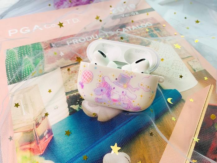 (複製)HongMan | 三麗鷗系列 Airpods Pro 耳機保護套 貝克鴨 宇宙太空鴨