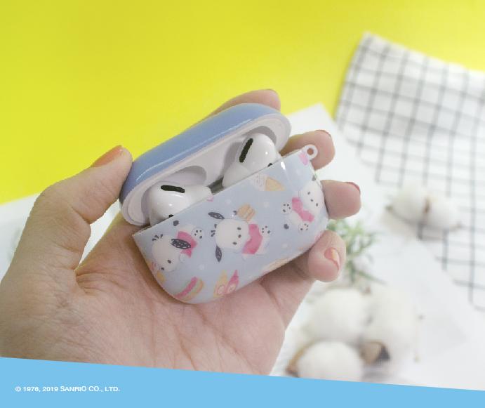 (複製)HongMan   三麗鷗系列 Airpods Pro 耳機保護套 蛋黃哥 阿…好累