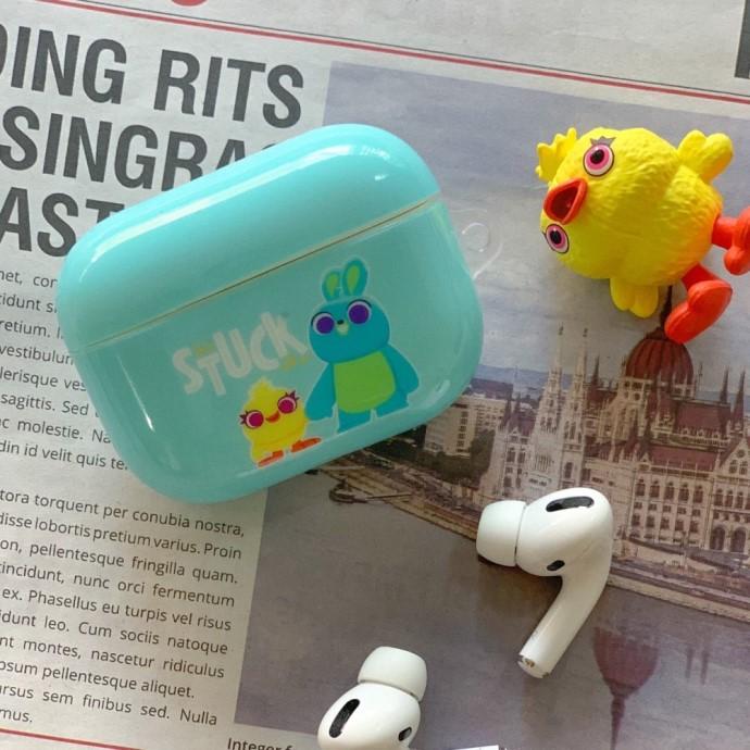 HongMan | 迪士尼系列 AirPods 防塵耐磨保護套 鴨霸與兔崽子