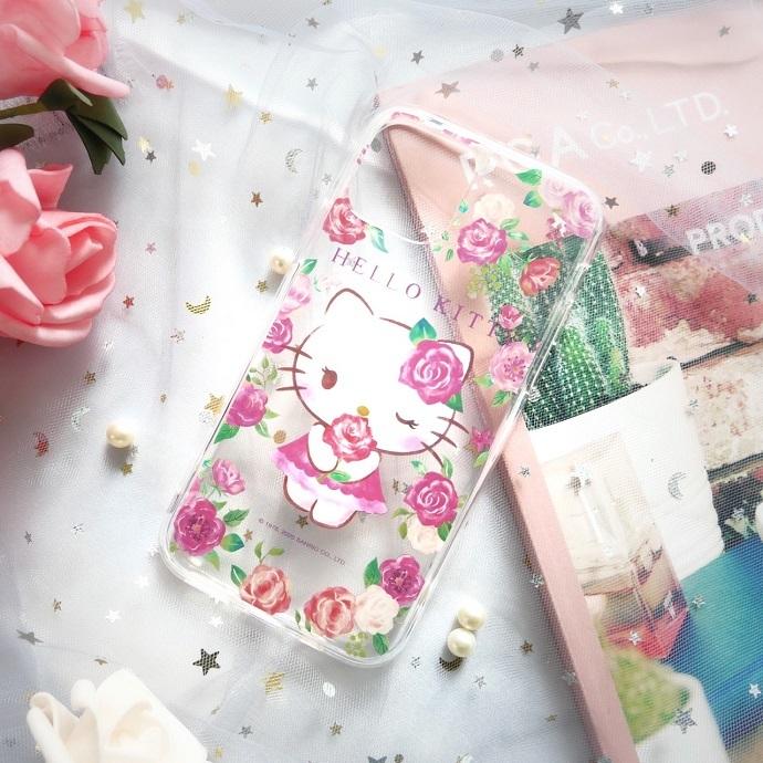 HongMan|三麗鷗系列  iPhone手機殼套裝組 凱蒂貓 ROSE KITTY