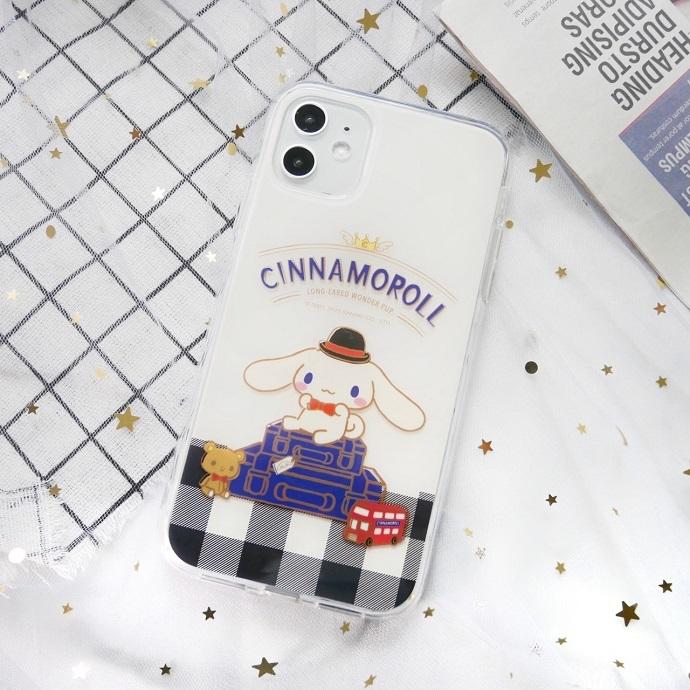 HongMan|三麗鷗系列 iPhone手機殼套裝組 大耳狗 英式風格
