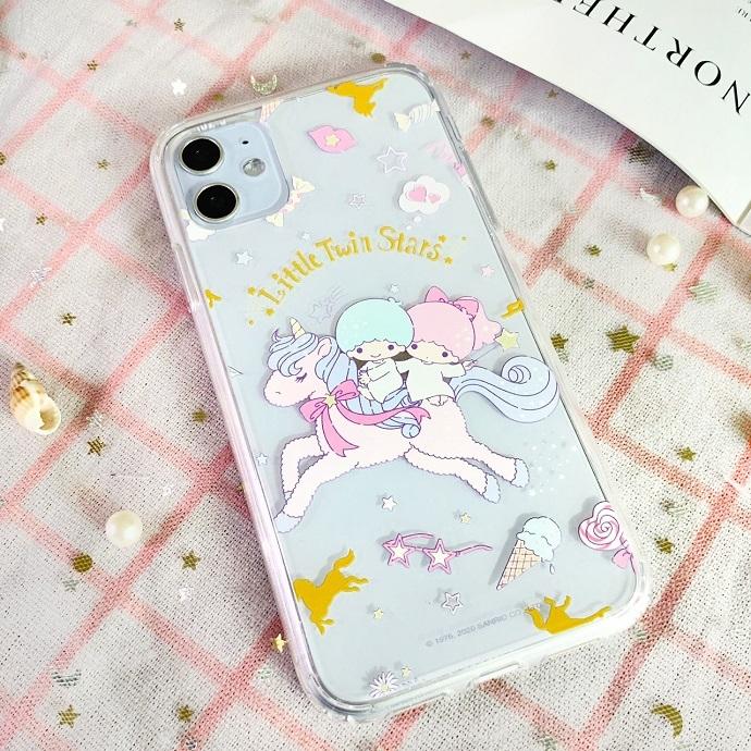 HongMan|三麗鷗系列 iPhone手機殼套裝組 雙子星 獨角獸樂園